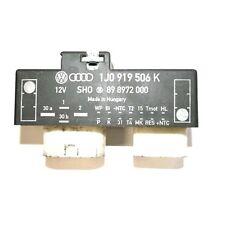 1j0 919 506 K Golf mk4 Fan Control Relay Interruttore Unità per il raffreddamento a ventola 1j0919506k