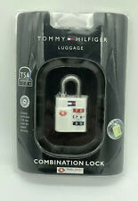 Tommy Hilfiger Luggage Combination Lock Style TA000CL5 White