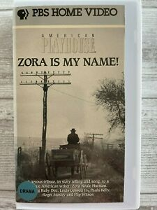 Zora Is My Name VHS Ruby Dee Flip Wilson Count Stovall Zora Neale Hurston 1990