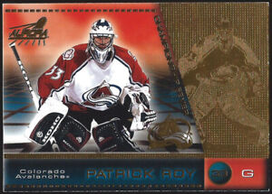 "1998/99 Pacific Aurora PATRICK ROY ""CHAMPIONSHIP FEVER"" Insert Card #12"