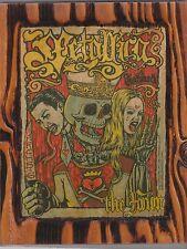 Metallica 2004 L.A. Forum Concert Flyer Copied On A Unique Wooden Plaque