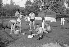 34. de infantería Division-lasnarices compañía-Gomel-Homel - 1941-nude-soldier - 122