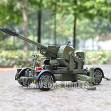 DIECAST METAL MILITARY MODEL TOYS 1:35 ANTI-AIRCRAFT GUN ARTILLERY CANNON