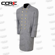 Civil War Confederate Double Breast Frock Coat All Sizes Available !