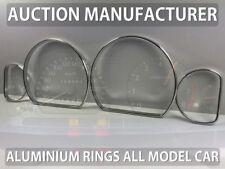 Mitsubishi Galant EA 96-03 Polished Aluminum Chrome Dial Rings For Counter 4pcs