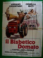 Manifesto El Debbie Davis Tractor Adriano Celentano Ornella Muti M27