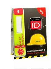 Emergency Hard Hat Helmet Sticker Construction Safety WSID-02