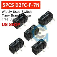 5 PCS Micro Switch Microswitch for OMRON D2FC-F-7N Mouse D2F-J Microswitch