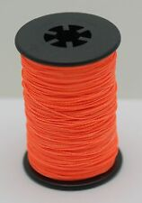 Flo. Orange BCY Powergrip Serving Thread Jig Spool Bow String Bowstrings, .014""
