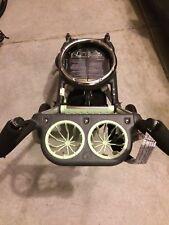 Orbit Baby G1 Compatible Stroller Base Frame Gray Black Adjustable Handles