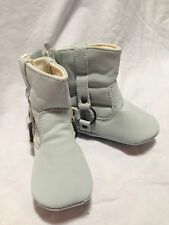 OLD NAVY baby boy infant 3-6 months light blue high Snow boots shoes New w Tags