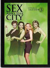 SEX AND THE CITY - Intégrale de la Saison 3 - Coffret  digipack