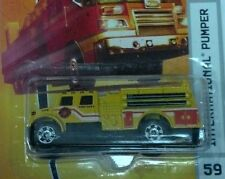 Matchbox MBX 2009 Emergency Response #59 International Pumper Yellow