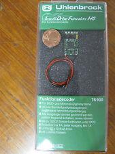 Uhlenbrock 76900 H0 Funktionsdecoder DCC / MOT II mit Kabel *NEU & OVP*