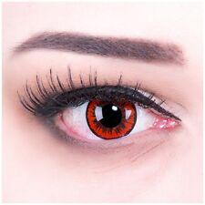 Lenti a contatto colorate crazy lens angelo rosso + GRATIS contenitore carnevale