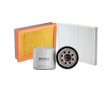 Ryco Oil Air Cabin Filter Kit - A360-Z436-RCA196P fits Subaru Forester 2.5 AW...