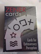 ESP ZENER CARDS LEARNING PSYCHIC INSPIRATIONAL SPIRITUAL WISDOM PAGAN GAME