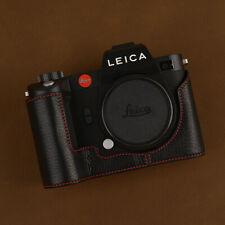Genuine Leather Half Case Cover For Leica SL2 Camera Protector