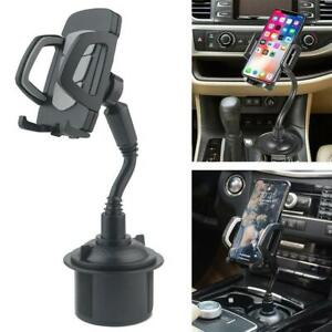 New Universal Adjustable Car Mount Gooseneck Cup Holder Cradle for Cell Phone