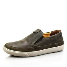 US7-10 New Mens Round Toe Leather Slip On Flat Casual Dress Formal Shoes Loafers