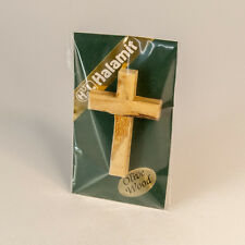 OLIVEWOOD SMALL  CROSS HAND MADE FROM HOLYLAND PRAYER CHRISTIAN HANGING GIFT@