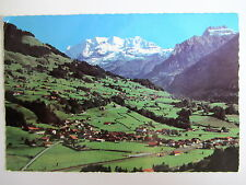 REICHENBACH Schweiz 1979 Kandertal Blümlisalp Bachfluh Aermighorn Alpen Berge