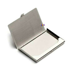 Pocket business id imperméable carte de crédit aluminium case wallet holder
