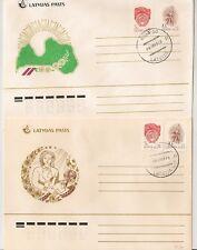 2 COVERS RIGA LATVIJA LATVIA LETTONIE. L747
