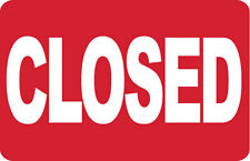 CLOSED- SIGN- #PS-423