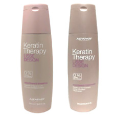 Alfaparf Lisse Design Keratin Therapy Maintenance Shampoo & Conditioner 8.45oz