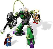 6862 LEGO Superman Vs Power Armor Lex (Wonder Woman, Luthor) w/ 3 minifigs - New
