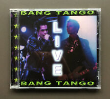 BANG TANGO Live CD Like NEW 1998 12 Tracks Hard Rock Glam Rock
