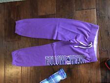 Justice Purple Sweats in Girls Size 12