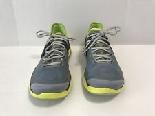 Under Armour 4D Foam Running Shoes Gray/Yellow 12355671 013 Sz 13