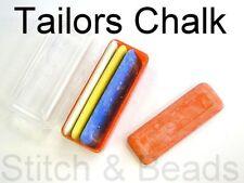 Tailors chalk Set di 4 colori assortiti in caso a base di argilla sarte Marker