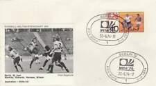 Voetbal envelop: WK Duitsland 1974 / Australië - Chili (voet027)
