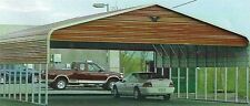 Triple Wide Steel Carport Cover 30 X 21 Free Del Amp Install Prices Vary