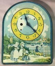 Irving Miller - Tin Litho Dutch Clock