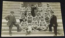 1900-1910 BASEBALL TEAM DERBY CIGARETTES ADVERTISING - *RARE* BASEBALL POSTCARD