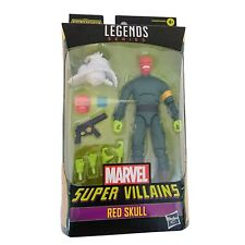Hasbro Marvel Legends Series Super Villain Red Skull 6 in Action Figure New