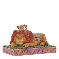 Disney Traditions 6000972 a Fathers Pride Simba and Mufasa Lion King Figurine
