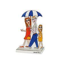 "GOEBEL James Rizzi ""Rainbow dreaming"" Figur aus Porzellan - ca. 15 cm"