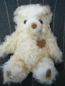 Vintage 1988 Pioneer Sheepskin Co GOLDILOCKS Limited Edition Teddy Bear Plush