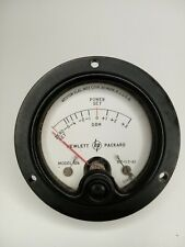 Weston Electrical Instruments Model 506 Hewlett Packard Gauge Power Set Antique