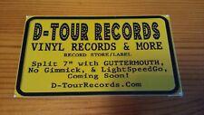 D-Tour Decal Sticker - Vinyl records punk rock Guttermouth No Gimmick Lightspeed