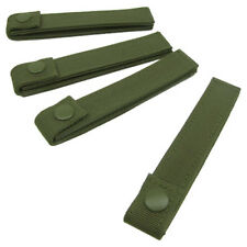 """CONDOR ARMY 6"""" MOD STRAP MODULAR WEBBING MOLLE PALS SYSTEM 4 PER PACK OLIVE DRAB"""