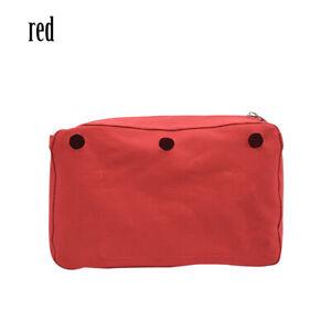 New Waterproof Inner Lining Insert Zipper Pocket for Obag Glam for O bag Glam