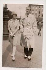 Vintage RPPC Banking Millionaire Walter E. Heller Wife Alyce DeCosta