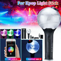 bluetooth Light Stick Fit For KPOP BTS ARMY Bomb Bangtan Boys Ver.3 Concert Lamp