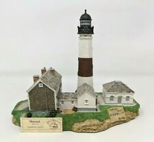 1998 Harbour Lights Great Lighthouses World Montauk Point Ny #405 Figurine Fw20